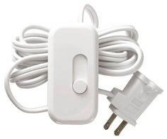 Lutron TT-300H-WH Electronics Plug-In Lamp Dimmer, White ...