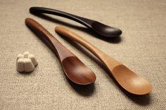 Cuillères à aromates en bois