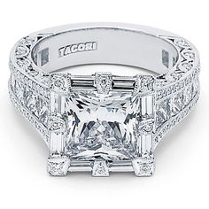 OMG!!!! Maybe for our 25 year anniversary, cause its $$$-- --  4.ct Princess Cut center Diamond....E*