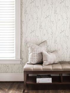Brewster Paloma Spring Tree Wallpaper