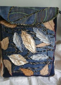 Jean Crafts, Denim Crafts, Redone Jeans, Denim Purse, Medicine Bag, Denim Ideas, Sewing Hacks, Sewing Projects, Purses And Bags