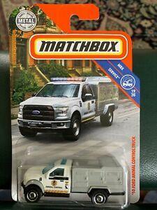 2019 Matchbox 81 2010 Ford F 150 Animal Control Truck Mbx Service Matchbox Matchbox Cars Ford F150