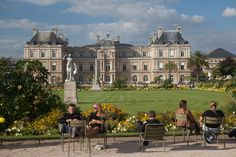 Jardin du Luxembourg (France). 'The Jardin du Luxembourg offers a snapshot of Parisian life. Couples stroll through the chestnut groves. Children chase wooden sailboats around the octagonal pond. Old men play rapid-fire chess. Students pore over books between lectures. Office workers snatch some sunshine, lounging in sage-green metal chairs. Musicians strike up in the bandstand. Joggers loop past stately statues.' http://www.lonelyplanet.com/france/paris/sights/city-park/jardin-du-luxembourg