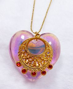 I have always loved Sailor Moon and this Sailor Moon inspired necklace is gorgeous!
