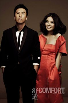 Zhao Wei and Donnie Yen.