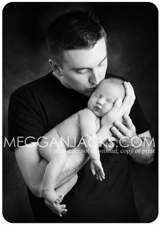 Baby & Dad - Baby Photography