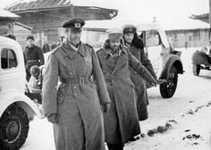 Wehrmacht Army Commander Field Marshal Paulus is captured. Stalingrad January 31, 1943