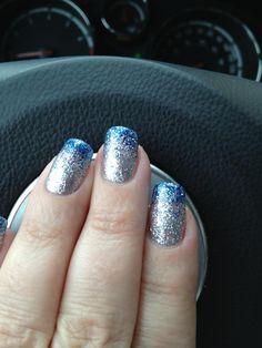 Silver & Denim Glitter!!!
