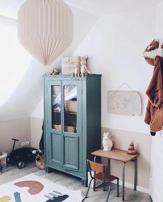 """Maison Pomme Frite on Instagram: """"Inspiration du jour: le vert dans une chambre d'enfant. Personnellement, -chambre d'enfant ou non- j'adore cette couleur. Elle apporte du…"""""""