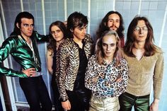 Roxy Music 1972 Glam Rock, Peel Sessions, John Peel, 70s Glam, The Pogues, Roxy Music, Glam And Glitter, Bronze, Glamour