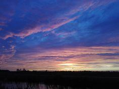 Sundown over Holland