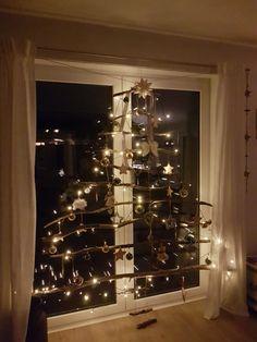 Weihnachten, Weihnachtsbaum, Alternative, selbst gemacht