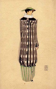 868. Edward Josef Wimmer-Wisgrill - Wiener Werkstatte postcard