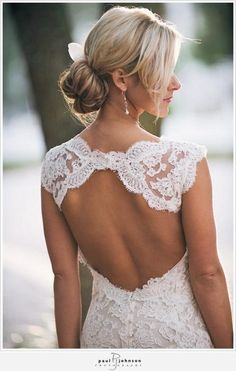 Beautiful lace. All in the details.