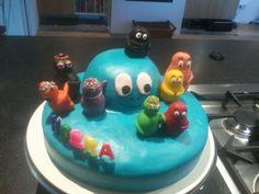 Barbapapa taart voor Raf zijn 4e verjaardag