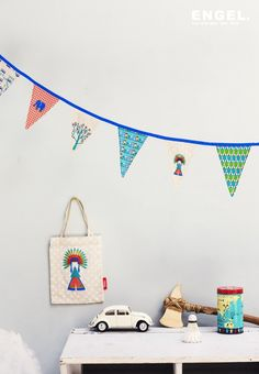 'Chief' mini bunting #Slingers #garland | ENGEL.