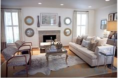 eCowhides.com - Grey Brindle Cowhide rug on SALE, $391.17 (http://www.ecowhides.com/grey-brindle-cowhide-rug-on-sale/)