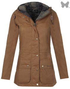 2f94eb807198b Barbour Heritage Ladies  Vintage Durham Wax Jacket - Buckthorn Brown  LWX0260YE71. Tenue Country  Usure Country  Vestes Dames · Vestes Pour Femmes  · Mode ...