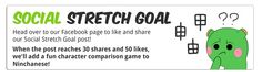 Added a social stretch goal to Ninchanese! Head over to https://www.facebook.com/ninchanese?_rdr&utm_content=buffera15d0&utm_medium=social&utm_source=pinterest.com&utm_campaign=buffer, like and share the pinned post to unlock a new mini-game in Ninchanese!