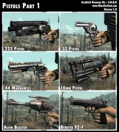 Fallout 3 Overhaul Kit Pistols