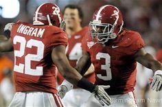 Mark Ingram and Trent Richardson