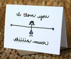 Little love notes - What you get a friend for a year: 15 best gifts here - En . - Little love notes – What you get a friend for a year: 15 best gifts here – grandchildren … - Diy Gifts, Best Gifts, Ideias Diy, Love Notes, Sweet Notes, Love Cards, Diy Cards For Mom, Cards Diy, Homemade Cards