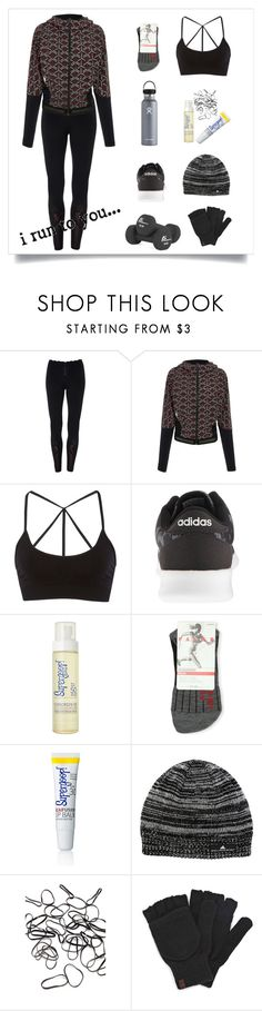 """And I Ran."" by sereneowl ❤ liked on Polyvore featuring adidas NEO, Supergoop!, Hydro Flask, Falke, adidas, Forever 21, Keds and Runner"