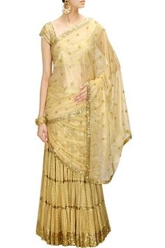 All that glitters is not a lehenga or saree, it can be a lehenga saree too!