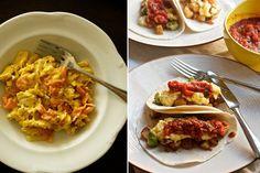 10 breakfast recipes, including breakfast quesadillas with cilantro chimichurri and chipotle crema