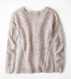 AEO Soft Cable Sweater - Buy One Get One 50% Off