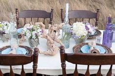 lavender and mint vintage wedding inspiration