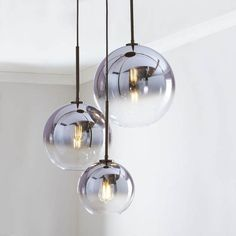 west elm Sculptural Glass Globe Chandelier – Clear ) - All For Decoration Glass Chandelier, Ball Pendant Lighting, Chandelier Lighting, Modern Pendant Light, Modern Glass, Glass Globe Chandelier, Pendant Light Fixtures, Glass Light Fixture, Glass Lighting