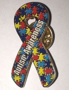 Autism Awareness Puzzle Pin http://thehouseofawareness.com/collections/autism-awareness-pins/products/autism-awareness-puzzle-pin-1