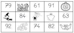 Loto des nombres. Bonne idée.  On peut le faire avec les lettres, les syllabes, les mots, les tables, ...