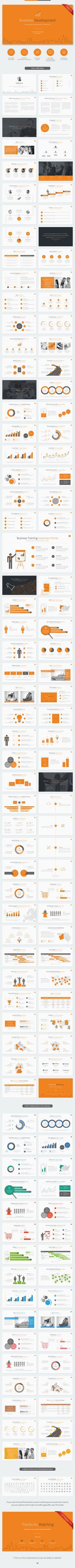 Business Development Powerpoint Template - Business PowerPoint Templates