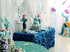 Under the Sea Quinceañera Party Ideas   Photo 4 of 11