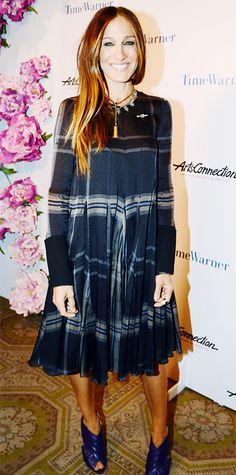 Look of the Day - April 25, 2014 - Sarah Jessica Parker in Vera Wang from #InStyle