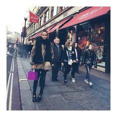 Ashley Madekwe Does Some Christmas Shopping