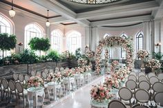 WedLuxe– Floral Wonderland Meets Vintage Luxe | Photography by: AGI Studio Follow @WedLuxe for more wedding inspiration!