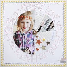 Ali Edwards | Blog: Love You Anna Layout & Story Kit™ Sale #craftthestory #scrapbooking #memorykeeping