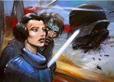 Star Wars by Enki Bilal