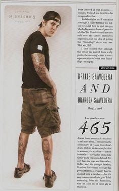 M Shadows tattoo kat von d