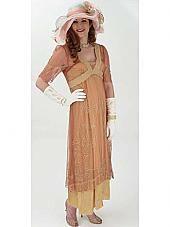 Romantic Downton Abbey Style Empire Dress at BlueVelvetVintage