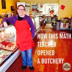 Barb the Butcher, the Former Math Teacher, Reveals How She Opened a Butcher Shop From Scratch. @TinShingle