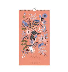 2016 Folk Illustrated Wall Calendar