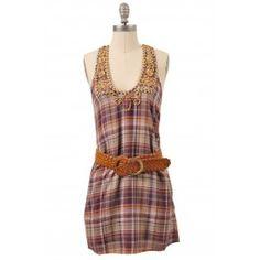 Plaid Pizzaz Dress | Indie Retro Vintage Inspired Dresses| Poetrie