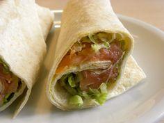 Wraps de salmón: http://wraps-de-salmon.recetascomidas.com/  - #recetas #recipes