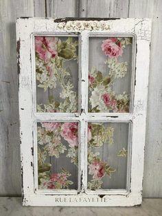 Shabby Chic Window #ShabbyChicInteriorsFairyLights #shabbychicstyledecor