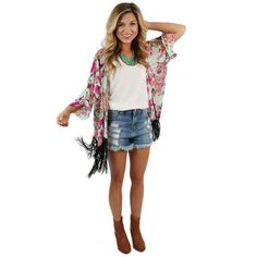 Pretty Print Overlay | Impressions Online Women's Clothing Boutique #shopimpressions @shopimpressions