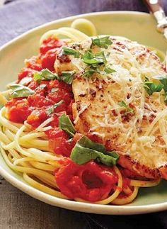 Low FODMAP Recipe and Gluten Free Recipe - Chicken parmigiana  http://www.ibssano.com/low_fodmap_recipe_chicken_parmigiana.html